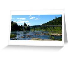 Bullock Bridge Greeting Card