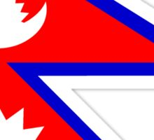 Flag of Nepal Sticker
