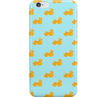 Lots of rubber duckies wallpaper iPhone Case/Skin