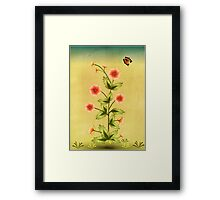 The Call of the Flowers Framed Print