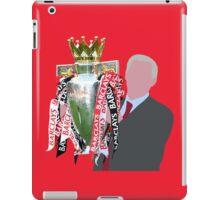Sir Alex Ferguson Minimalist iPad Case/Skin