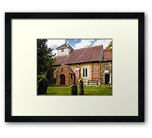 St James Ashmansworth Framed Print