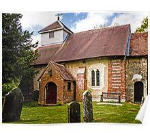 St James Ashmansworth Poster