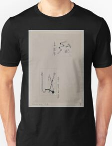Two images  top  shash and attachments for uniforms  bottom  batons or ceremonial staffs 001 Unisex T-Shirt