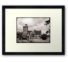 St Barnabas Faccombe Framed Print
