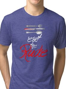 Hannibal - Eat the Rude (Vintage style) Tri-blend T-Shirt