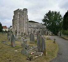 Seaton parish church by brucemlong