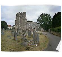 Seaton parish church Poster