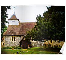 St Mary's Sulhamstead Abbots Poster