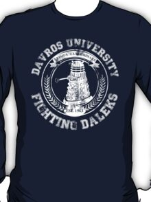 Davros University T-Shirt