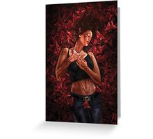 Dreaming Butterfly Greeting Card