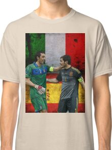 Iker Casillas and Gianluigi Buffon Classic T-Shirt
