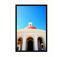 Greetings from Old San Juan Art Print