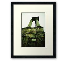 Saturno - Lomo Framed Print