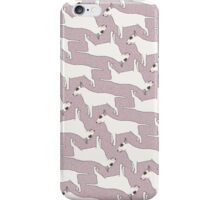 Bull Terrier pattern iPhone Case/Skin