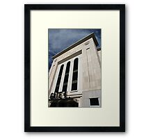Entering Yankee Stadium Framed Print