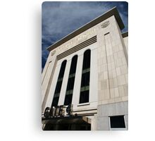 Entering Yankee Stadium Canvas Print