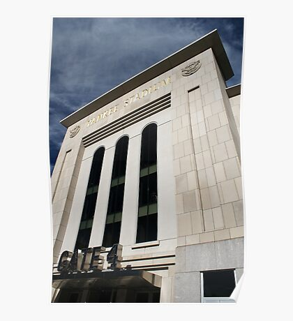 Entering Yankee Stadium Poster