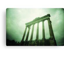 Columns - Lomo Canvas Print