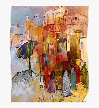 Morocco - Going to The Medina in Morocco Poster