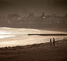 Jersey beach by paulwhittle