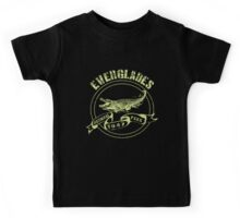 Everglades National Park in green Kids Tee