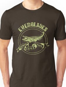 Everglades National Park in green Unisex T-Shirt