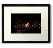 Cathedral View Framed Print