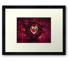 Tattoo Rose Framed Print
