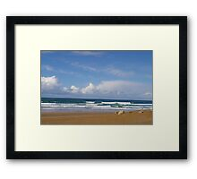 Holywell Beach Framed Print