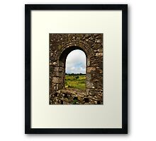 Window into Cornwall Framed Print