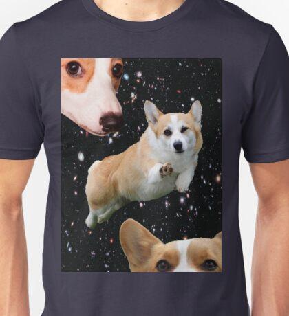 corgis in space Unisex T-Shirt