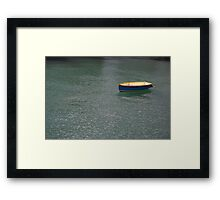 Lonely Little Row Boat Framed Print