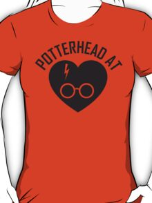 HARRY POTTER - POTTERHEAD AT HEART T-Shirt