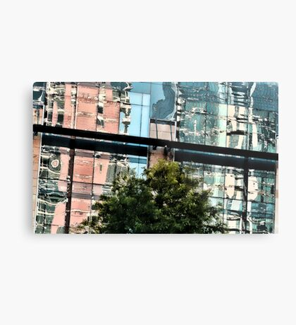 A Second Look Up From City Hall Plaza ~ Austin, Texa Metal Print
