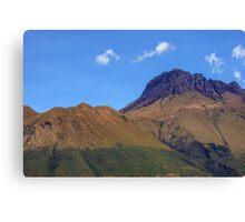 Andes Mountains of Lago San Pablo, Ecuador Canvas Print