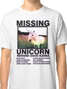 Missing unicorn Classic T-Shirt