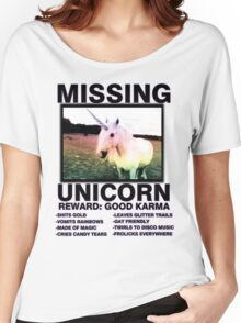 Missing unicorn Women's Relaxed Fit T-Shirt