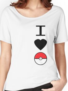 I Heart Pokemon Women's Relaxed Fit T-Shirt