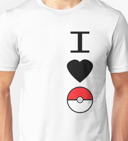 I Heart Pokemon Unisex T-Shirt
