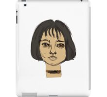 Mathilda Leon iPad Case/Skin