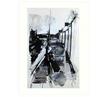 Hyde Park Road 1 Art Print