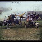 Auto Polo, ca. 1915 by Dana Keller