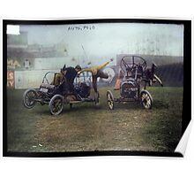 Auto Polo, ca. 1915 Poster