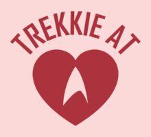 STAR TREK - TREKKIE AT HEART  Kids Tee