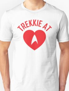STAR TREK - TREKKIE AT HEART  T-Shirt