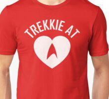STAR TREK - TREKKIE AT HEART WHITE Unisex T-Shirt
