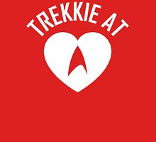 STAR TREK - TREKKIE AT HEART WHITE Unisex T-Shirt