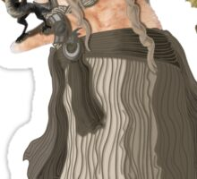 Game of Thrones Khatleesi /Cat Daenerys Illustration Sticker