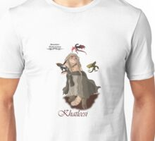 Game of Thrones Khatleesi /Cat Daenerys Illustration Unisex T-Shirt